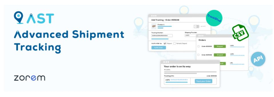 Advanced Tracking Shipment is one of the best woocommerce shipping plugins