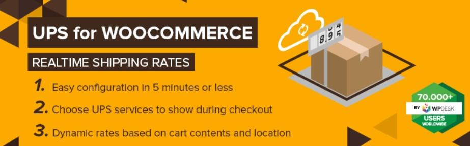 UPS WooCommerce: best woocommerce shipping plugins