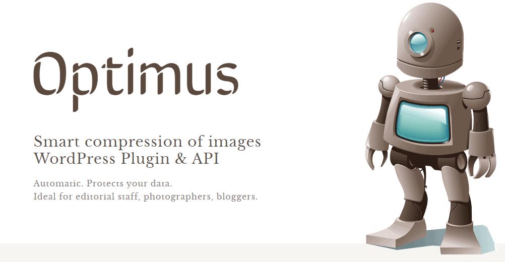 Optimus: best wordpress image compression plugin